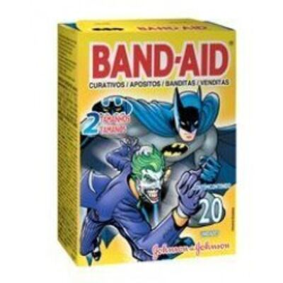 Curativo Band-Aid Desenhos Johnson´s 20 Unidades