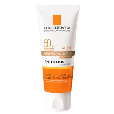 Imagem 1 do produto Anthelios Unifiant Mousse Fps 50 La Roche Posay - Protetor Solar Facial com Cor - Universal