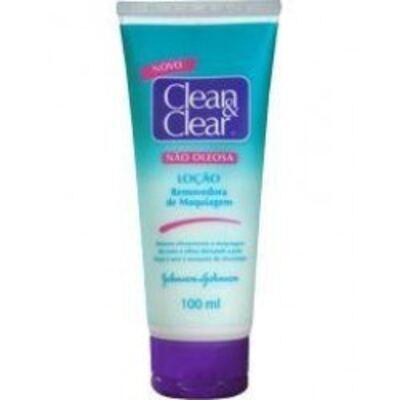 Demaquilante Clean Clear Johnson´s 100g