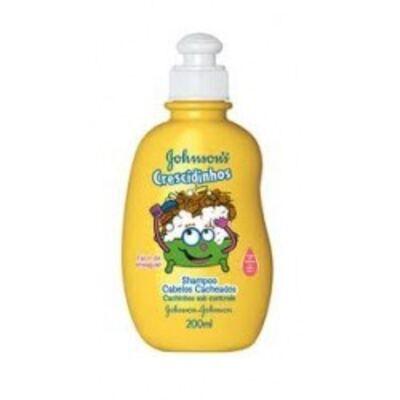 Imagem 1 do produto Shampoo Johnson´s Crescidinhos Cacheados 200ml