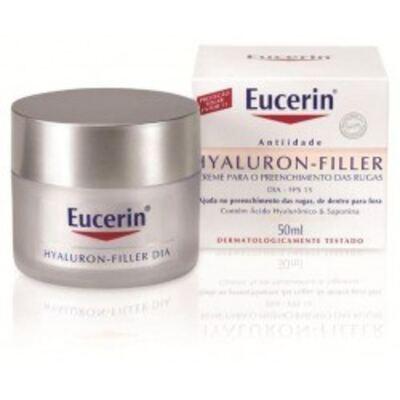 Eucerin Hyaluron Filler Creme Facial Dia Anti-idade 50g