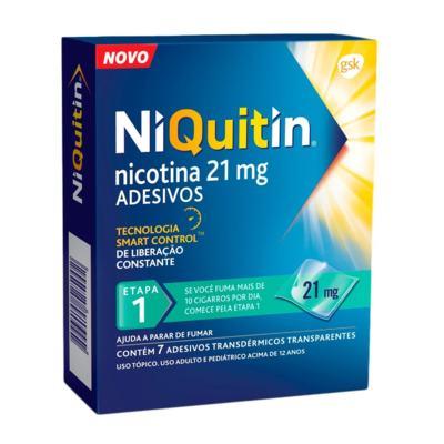 Niquitin - 21mg   7 adesivos transdérmicos transparentes