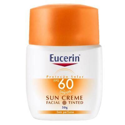 Eucerin Protetor Facial Sun Tinted FPS60 50g