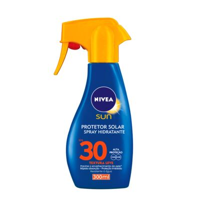 Protetor Solar Nivea Sun Spray Fps 30 300ml