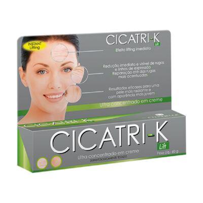 Cicatri-K Lift Creme Redução de Rugas e Linhas de Expressão 60g