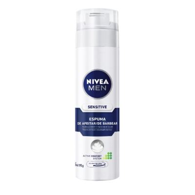Espuma Barba Nivea For Men Sensitive 193g
