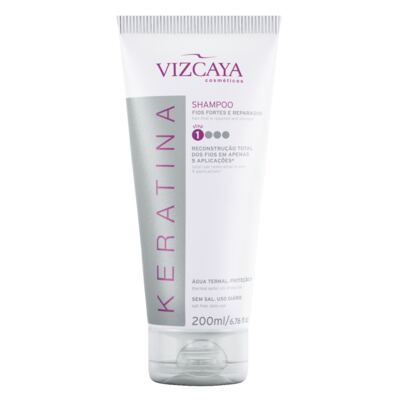 Shampoo Keratina Vizcaya 200ml