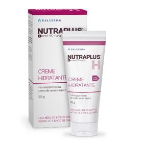 Creme Hidratante Nutraplus - Pele Seca e Áspera | 60g