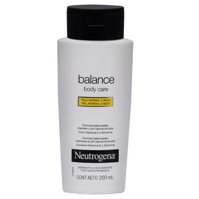 Loção Hidratante Neutrogena Balance 200ml