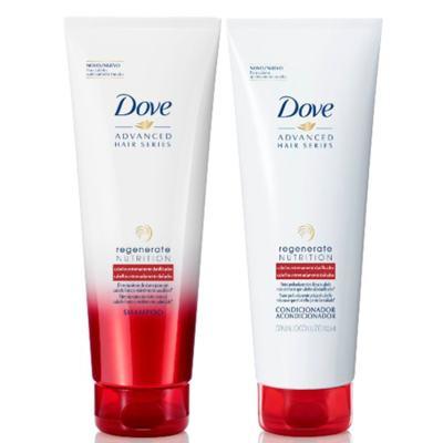 Kit Dove Regenerate Nutrition Shampoo + Condicionador 200ml