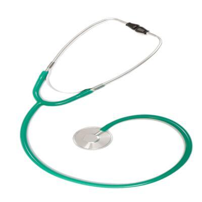 Imagem 1 do produto Kit Esteto Simples com Aparelho de Pressão Verde P.A. Med