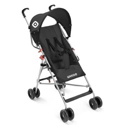 Imagem 1 do produto Carrinho de Bebê Guarda-chuva Weego Way Preto