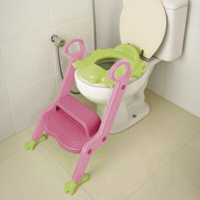 Imagem 1 do produto Redutor de Assento Com Escada Menina Multikids Baby - BB052
