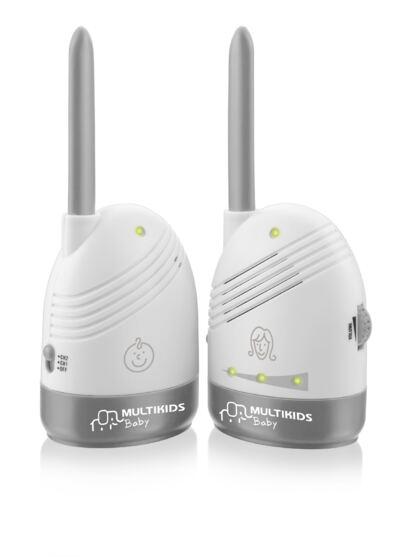 Imagem 1 do produto Babá Eletrônica Sem Tela Baby Sound Multikids Baby BB002