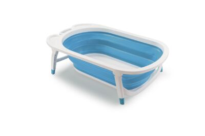 Banheira Dobrável Flexi Bath Azul Multikids Baby - BB172