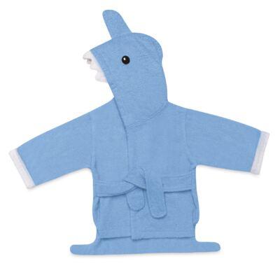 Imagem 1 do produto Roupão para Bebê com Capuz Tubarão Multikids Baby - BB074