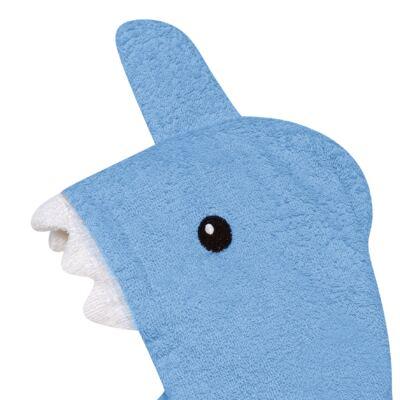 Imagem 3 do produto Roupão para Bebê com Capuz Tubarão Multikids Baby - BB074