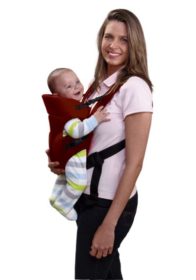 Imagem 2 do produto Canguru para Bebê Baby Safe (Bordô) Multikids Baby - BB194