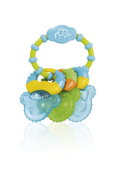 Mordedor com Gel Cool Rings Azul Multikids Baby - BB150