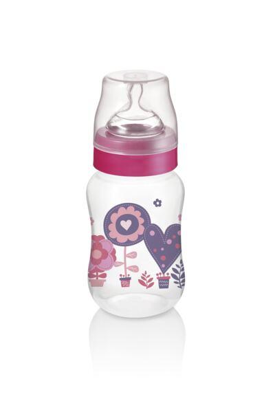 Imagem 2 do produto Mamadeira Boys & Girls Pp Rosa Ortonatural 250Ml Multikids Baby - BB106