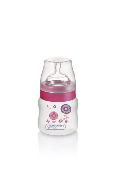 Imagem 2 do produto Mamadeira Boys & Girls Pp Rosa Ortonatural 125Ml Multikids Baby - BB104