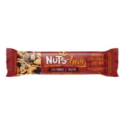 Barra Nuts Bar Castanhas e Frutas 25g