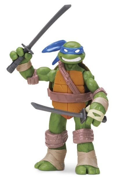 Imagem 1 do produto Tartarugas Ninja Boneco Leonardo 12 cm - BR030A