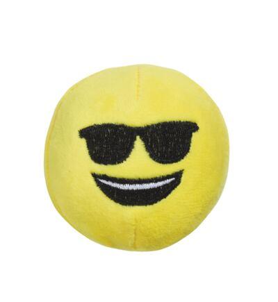 Imagem 1 do produto Pelúcia Multikids Emoji Óculos 7cm com Ventosa BR556