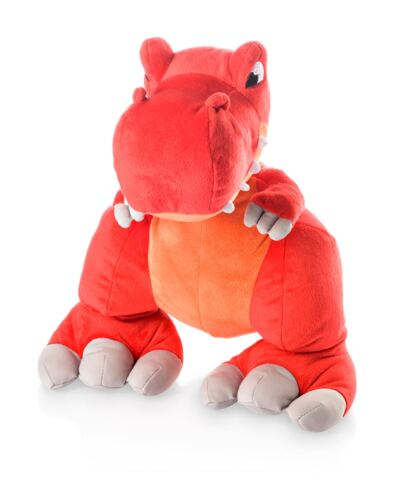 Pelúcia Dino Thunder Stompers Vermelho - BR357