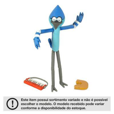 Boneco Regular Show-Figura 15 Cm Mordecai  e RiGBy Multikids - BR130