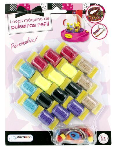 Imagem 1 do produto My Style Loops Máquina de Pulseiras Refil - BR562
