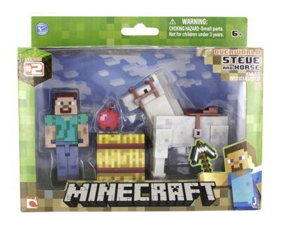 Imagem 1 do produto Minecraft Steve com Cavalo Multikids - BR476