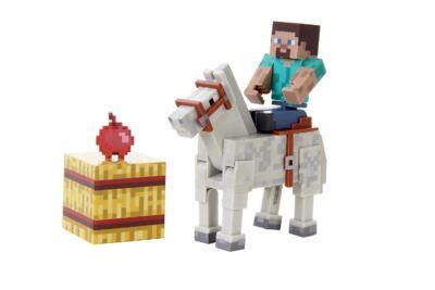 Imagem 2 do produto Minecraft Steve com Cavalo Multikids - BR476