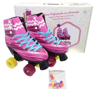 Imagem 1 do produto Patins Sou Luna Roller Skate 2.0 Tam. 36 Multikids - BR720