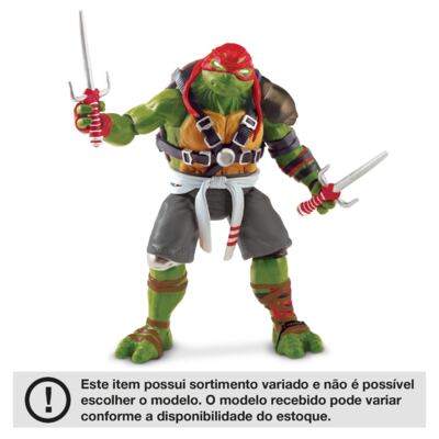 Imagem 2 do produto Tartarugas Ninja Filme II Figura Basica Multikids - BR534
