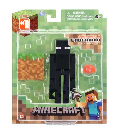 Imagem 1 do produto Boneco Enderman Minecraft com Acessórios - BR144A