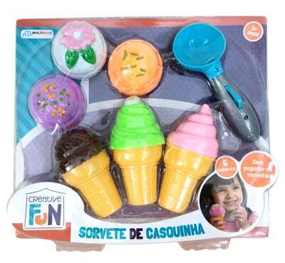 Creative Fun Sorvete de Casquinha - BR651