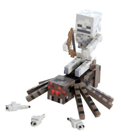 Boneco Spider Jockey Minecraft - BR152