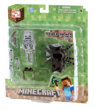 Imagem 2 do produto Boneco Spider Jockey Minecraft - BR152