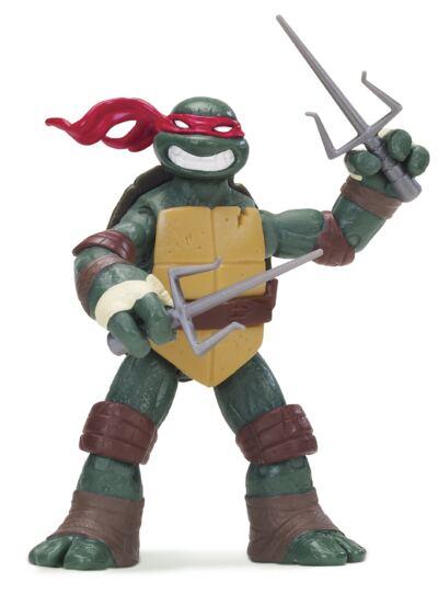 Imagem 1 do produto Tartarugas Ninja Boneco Raphael 12 cm - BR030D