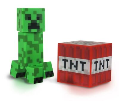 Imagem 1 do produto Minecraft Boneco Creeper com Acessórios - BR144C