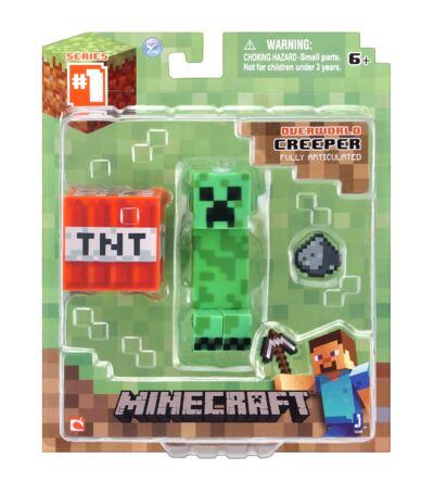 Imagem 2 do produto Minecraft Boneco Creeper com Acessórios - BR144C