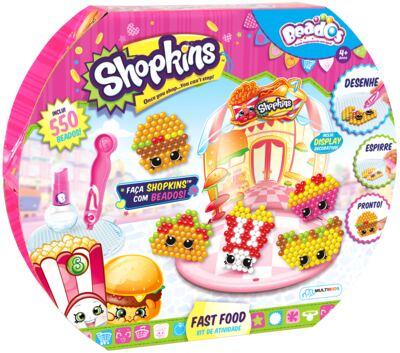 Beados Shopkins Atividades Fast Food - BR572