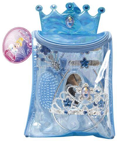 Imagem 1 do produto Kit Bolsa de Acessórios Princesas Cinderella - BR632