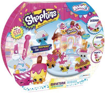 Imagem 1 do produto Beados Shopkins Atividades Sorveteria - BR575