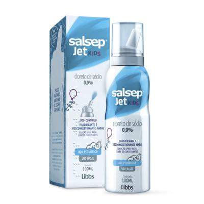 Salsep Jet Kids Soloução Nasal 9mg/ml Libbs 100ml