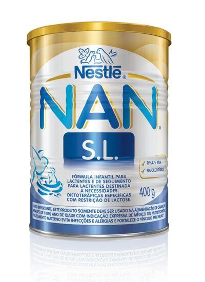 Fórmula Infantil NAN Sem Lactose Lata 400g