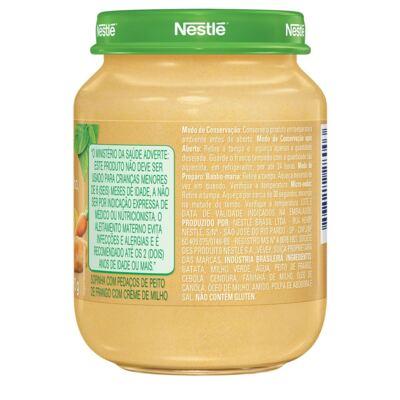 Imagem 2 do produto Papinha Nestlé Creme de Milho com Cenoura e Peito de Frango 170g