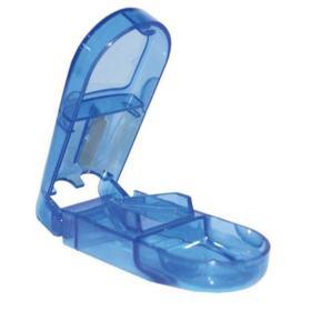 Incoterm Cortador de Comprimidos - Azul   1 unidade