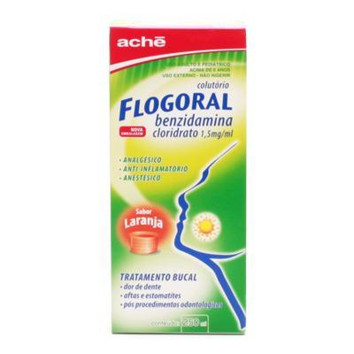 Flogoral Colutório - Sabor Laranja 1,5mg/ml | 250ml
